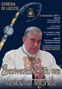 Benvenuto tra noi Vescovo Michele